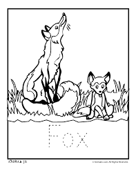 Small Picture Zoo Animal Coloring Pages Baby Fox Woo Jr Kids Activities