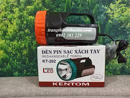 KHUYẾN MÃI - Đèn pin sạc xách tay Kentom KT 202