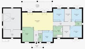exemple plan maison moderne beau modele de maison plain pied toit plat mc immo