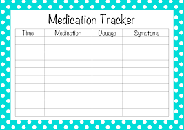 Medication Log Sheets Printable Weekly Medication Schedule Download Them Or Print