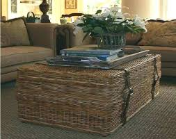 rattan and glass coffee table brown rattan coffee table lovely wicker cocktail table round wicker coffee