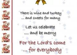 Christmas Party Invitation Wording From Christmas A