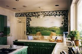 Kitchen Mural Austin Texas Mural Painter Artist Studio Mfcartstudiocom