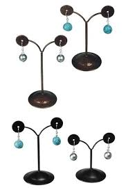 Earring Stands And Displays Inspiration Earring Display Jewelry Necklace Display Form Ring Display Stand