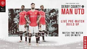 Manchester United v Derby County | LIVE MUTV pre-match build up | Sun 12:00  (BST)