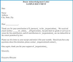 Gratitude Letter Template Example Of Acknowledgement Letter Templates Free Samples