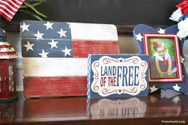 4th of july foyer chalkboard art how to nest for less