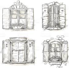 vintage window drawing. pin drawn window vintage #6 drawing pinart