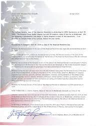 Chuck Scott, President Elect KYSSAR 504 Dorsey Way Louisville, KY40223  502-592-3280 chuckscotthomes@gmail.com 25 April 2014 To w