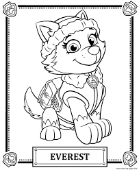 Coloring Pages Paw Patrol Rocky And His Recycling Truck Paw Patrol