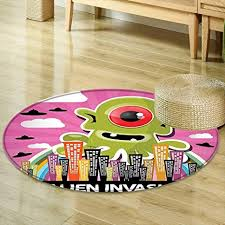 Garden Office Designs Impressive Amazon Round Area Rug Carpet Outer Space Decor Funny Giant Big