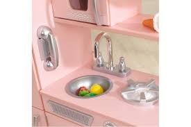 kidkraft vintage play kitchen pink
