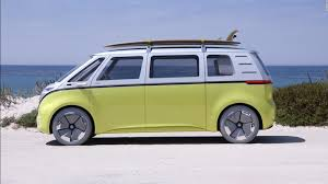 Volkswagen's electric concept bus is far out, man - CNN Video