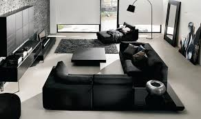 white room with black furniture. White Room With Black Furniture Photo - 4 A