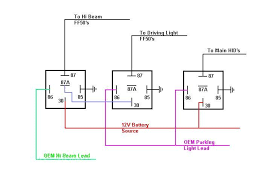 wiring diagram for relays 12 volt Driving Lights Wiring Diagram With Relay 12v auto relay wiring diagram wiring diagrams narva driving light wiring diagram with relay