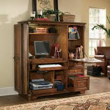 Computer armoires help you create a complete office in one location and do  it neatly behind closed doors. Pick and choose over the armoire that best  suits ...
