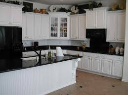 Grey Countertops Dark Cabinets Kitchen Top Tiles Backsplash With