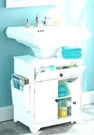 bathroom pedestal sink storage.  Bathroom Attractive Best Impressive Bathroom Pedestal Sink Storage Cabinet  And