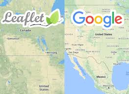 google maps api or leaflet what's best for your project  codementor