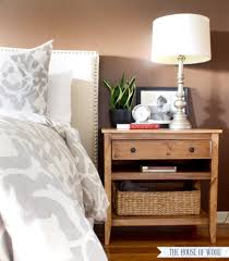 Nightstand Bedside Table Cool Furniture In Diy Table