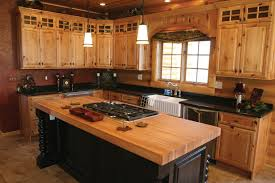 Best Custom Kitchen Cabinets Natural Knotty Alder Wood Kitchen Cabinets Custom Wood Within