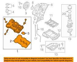 kia oem 14 15 cadenza engine valve cover left 224103cgb7 kia oem 14 15 cadenza engine valve cover left 224103cgb7