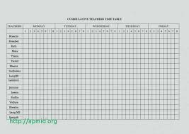 Blank Table Template Custom Cookbook Table Of Contents Template