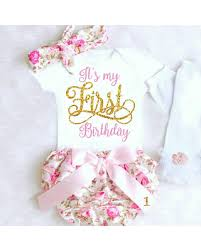 Savings On First Birthday Outfit Girl 1st Birthday Girl Outfit Baby