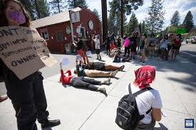 Protest at Tahoe ice cream shop after owner makes 'insensitive ...