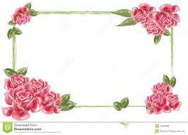 Flower Wall Paper Border Lavender Flower Wallpaper Border Red Flower Border Royalty