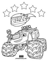 9 Best Blaze Images Coloring Pages Coloring Pages For Kids Print