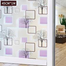 glass door adhesive window cling