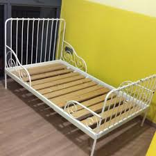 Preloved Minnen Kids Extendable Bed Frame, Babies & Kids on Carousell