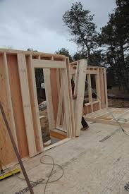 building and raising exterior walls