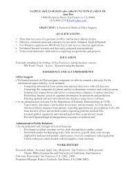 Fair Office Skills Resume List with Additional Good Skills for Resume