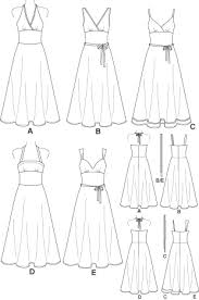 Dress Sewing Patterns Amazing New Look 48 Misses Dresses