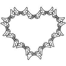 Small Picture Hearts arrows coloring pages Hellokidscom