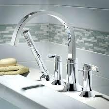 delta deck mount tub faucets wall mount roman tub faucet interesting deck mount bathtub faucets delta