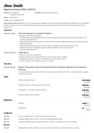 experienced rn resume sample nursing resume template guide examples of experience skills