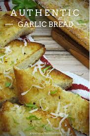 Authentic Garlic Bread Annmarie John