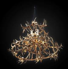 top 78 bang up small deer antler chandelier kit horn table lamps kitchen foyer chandeliers