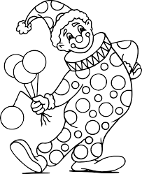 Coloriage Clown Cirque Dessin Imprimer Sur Coloriages Tout Dessin De Clown L