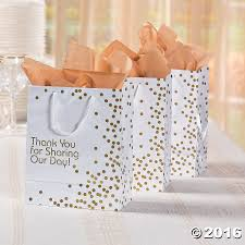 Make wedding gift giving a breeze with these fun yet elegant Wedding Gift  Bags. These