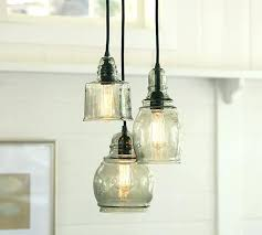full image for paxton glass 3 light pendant pottery barn rope chandelier pottery barn griffin rope