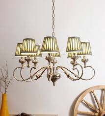 gold glass chandelier by jainsons emporio