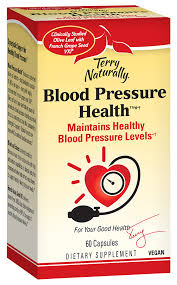 Healthy Blood Pressure Chart Blood Pressure Health Terry Naturally By Europharma