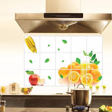 kitchen tiles with fruit design. awesome new kitchen oilproof fruit pattern removable wall stickers art decor home decal for living room with tiles design m