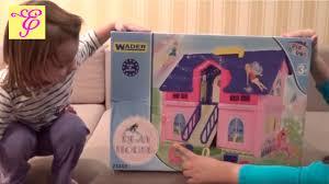 """Игровой набор """"<b>Кукольный</b> дом"""" <b>Домик</b> фирмы <b>WADER</b> Видео ..."""