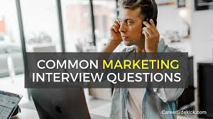 Common Marketing Interview Questions Top 13 Marketing Interview Questions And Answers Career