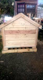House Made From Pallets Pallets Wood Dog House Pallet Furniture Diy